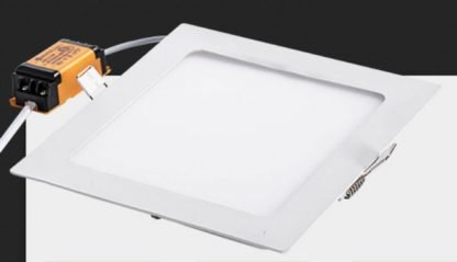 Recessed LED Downlight Square Slim with remote driver
