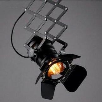 Annuziata Zig-Zag Shape Ceiling Black Spotlight