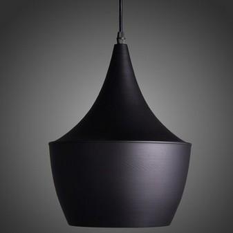 Erlend Matte Black And Textured Gold Modern Design Pendant Light
