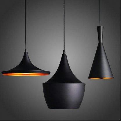 Erlend Matte Black Minimalist Modern Pendant Light