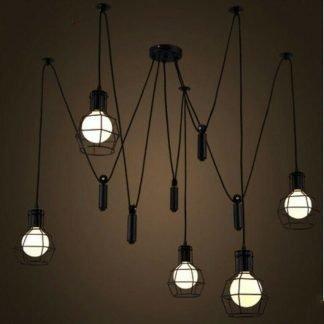 Filomena Vintage Wire Cage Pendant Lights