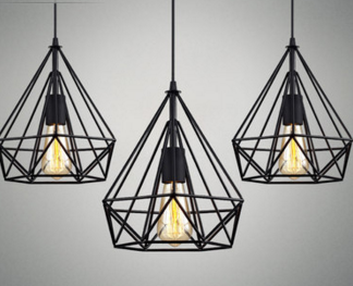 Magnus Contemporary Style Geometric Hanging Lamp