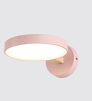 Cornelia Scandinavian Slim Round Shaped Wall Lamp Luxury Design lights