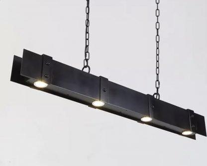 Gerlach Rustic Industrial Chic Metal Pendant Lamp Lounge lights