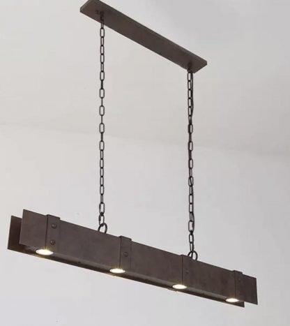Gerlach Rustic Industrial Chic Metal Pendant Lamp Restaurant lamps