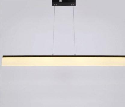 Kennet Contemporary Linear Shaped Pendant Light Entrance lights