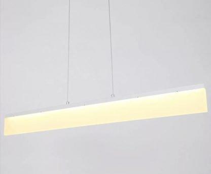 Kennet Contemporary Linear Shaped Pendant Light Restaurant lights