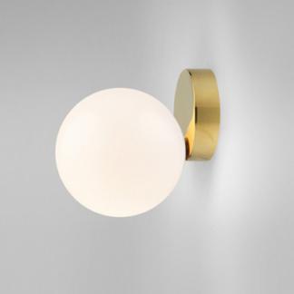 Solveig Elegant Globe Shaped Glass Wall Lamp