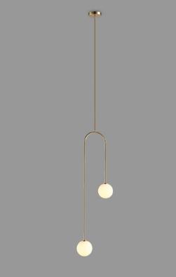 Evert Eye-Catching Minimalist Double Globe Pendant Light Bedroom lights