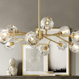 Hendrika Luxury Elegant Glossy Crystal Chandelier Light Glamorous lightning