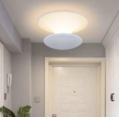 Ingjerd Mushroom Shaped Dual-Layer Ceiling Light Hallway lights
