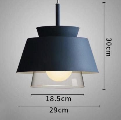 Roth Scandinavian Contemporary Conical Shaped Pendant Lamp Restaurant lights