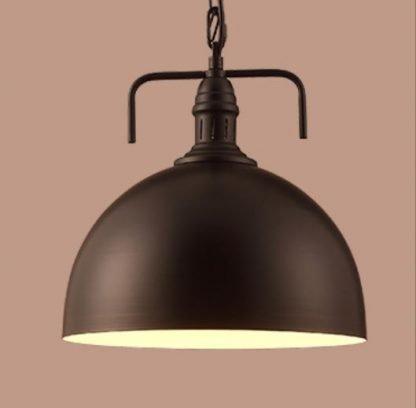 Marius Industrial Hanging Lamp - black