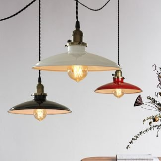 Sindre Gas Saucer Industrial Lamp
