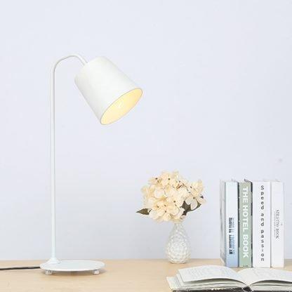 Allan Industrial Eye-Catching Comfortable Reading Lamp White