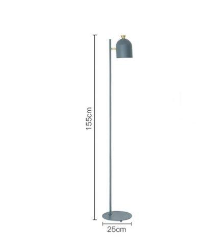 Magda Standing Modern Industrial Tall Pole Light