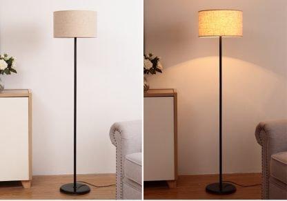 Mynte Minimalist Contemporary Arc Floor Lamp