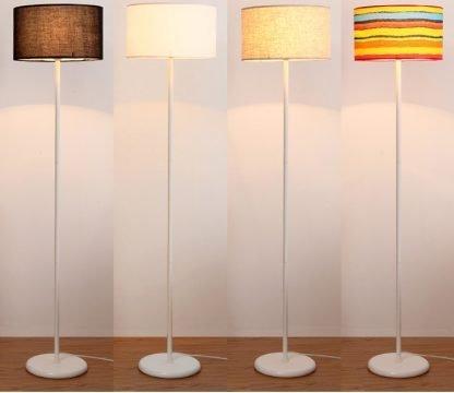 Mynte Contemporary Adjustable Minimalist Colorful Arc Floor Lamp