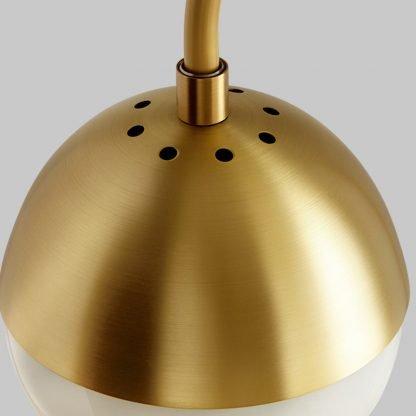 Aghethe Luxury Copper Nordic Desk Golden Lamp