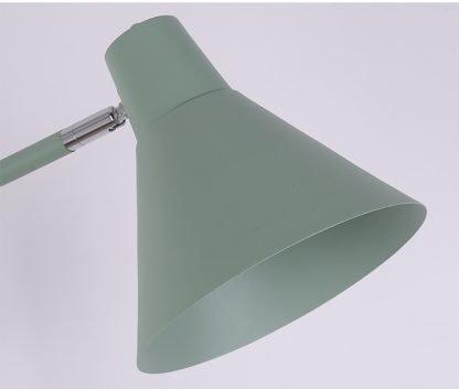 Mikkeline Contemporary Storage Shelf Green Minimalist Floor Lamp