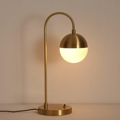 Aghethe Luxury Copper Nordic Desk Lamp
