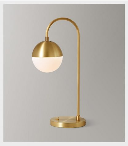 Aghethe Luxury Copper Nordic Chic Design Desk Lamp