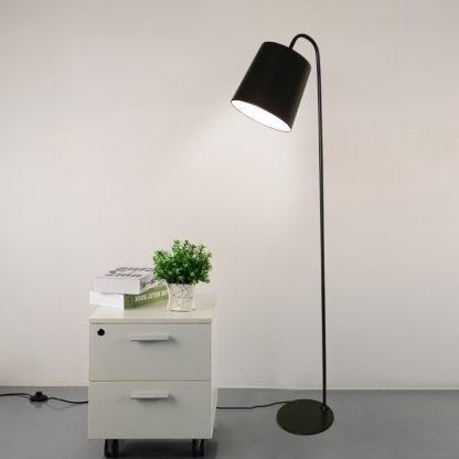 Vilfred Nordic Modern Standing Scandinavian Black Floor Lamp
