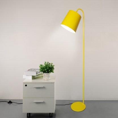 Vilfred Nordic Modern Standing Scandinavian Yellow Floor Lamp