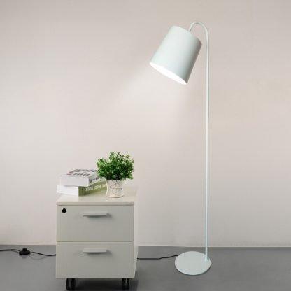 Vilfred White Nordic Modern Standing Floor Lamp