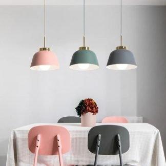 Ejvind Scandinavian Pastel Colour Luxury Alluring Pendant Light
