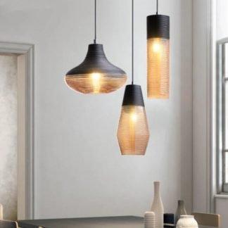 Gerd Gorgeous Glass Modern Pendant Light Livingroom