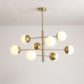 Osborn Modern Molecular Hanging Light Luxury lighting