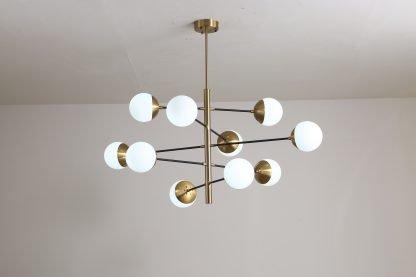 Osborn Modern Molecular Hanging Light Modern style chandelier