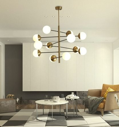Osborn Modern Molecular Hanging Light lamps for coffee table
