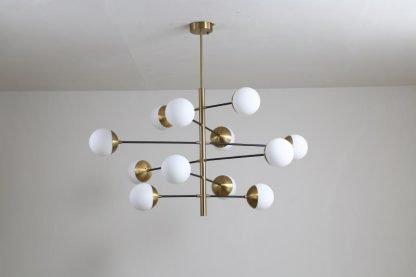 Osborn Modern Molecular Hanging dining lamp