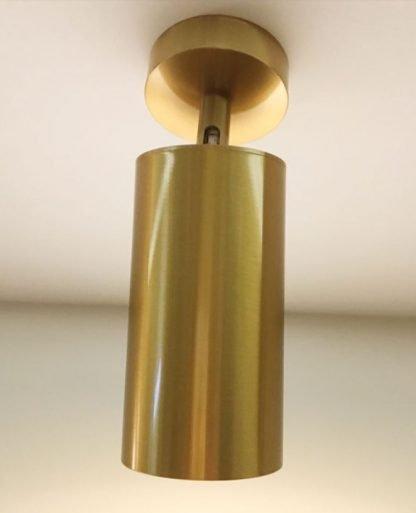 Gronar Vintage Gold Track Lights - surface mount
