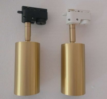 Gronar Vintage Gold Track Lights - tracklight version