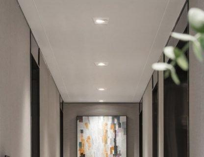 Recessed-LED-Spotlight-Square hallway light