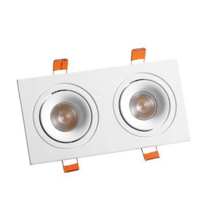Recessed-LED-Spotlight-Square twin