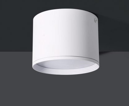 Surface Mounted LED Downlight Round actual closeup white