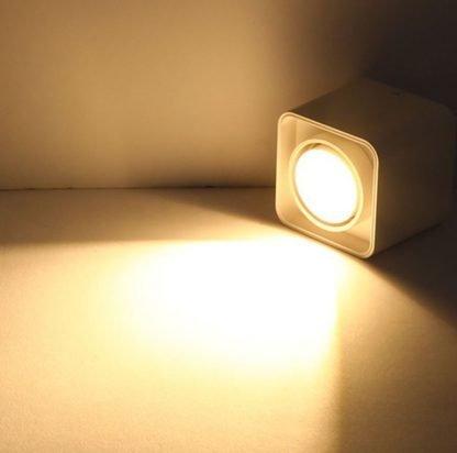 Surface-Mounted-LED-Rectangular-Box-Spotlight-Downlight single lit