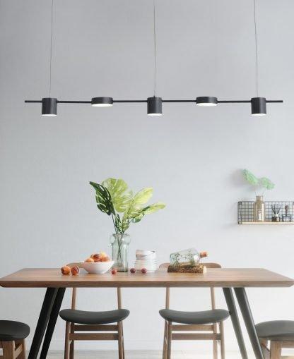 Beverlye Long Pole Pendant Lamp-bar