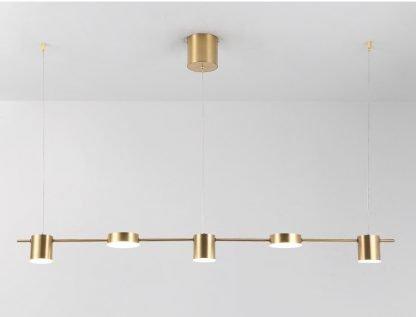 Beverlye Long Pole Pendant Lamp-study room