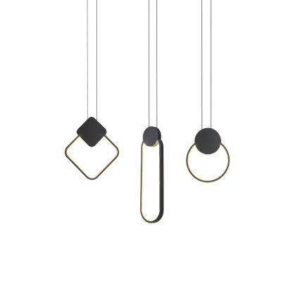 Brandyn Minimalistic Frame Pendant Lamp-restaurant