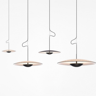 Carlyle UFO Disc Pendant Lamp-dining room