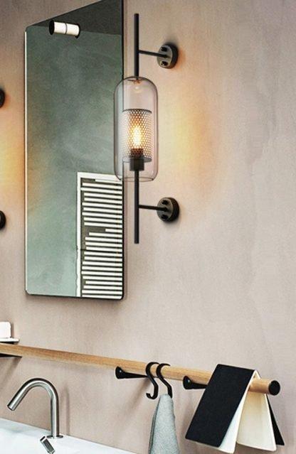 Haugen Elegant And Luxe Modern Wall Light-washroom