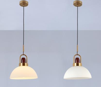Eriksen Classy Sophisticated Glass Exterior Pendant Lamp-reception